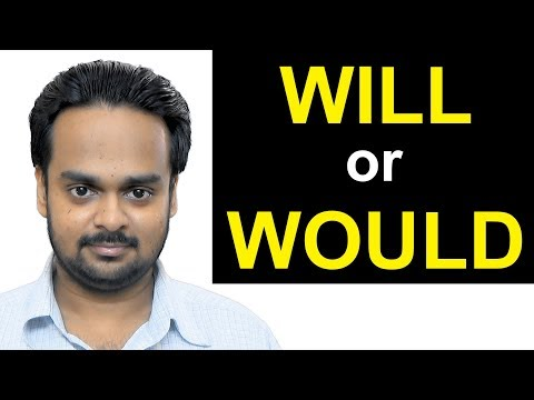 Correct Use Of Will And Would What S The Difference Modal Verbs
