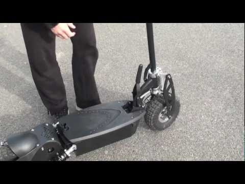 1000 Watt 36 Volt All Terrain Electric Scooter Review
