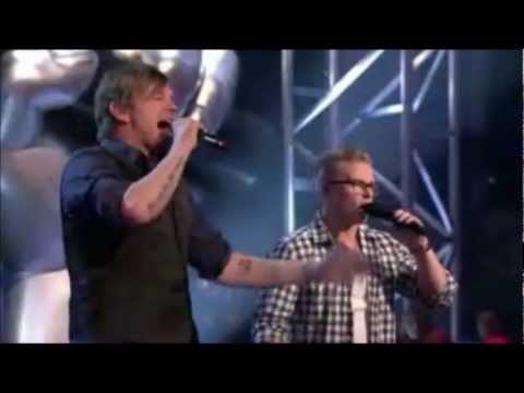 The Voice Norge 2012 - Marius Beck og Knut Anders Sørum  - Duell - Break And Break [HQ]