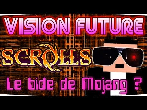 VISION FUTURE : Scrolls, le bide après Minecraft ? [Gameplay Beta]