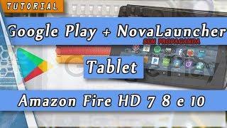 Como Instalar Google Play no Amazon Fire HD 7 8 10 Tablet Remove ads