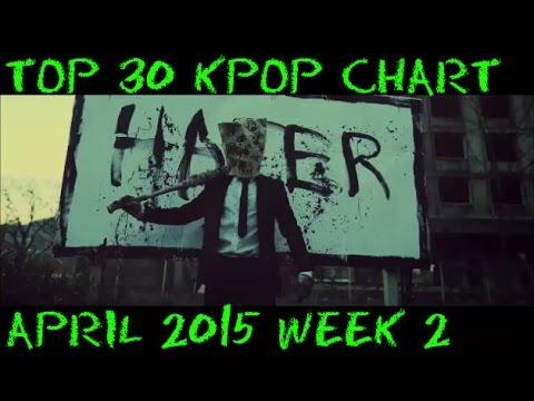Top 30 KPOP Chart APRIL 2015 WEEK 2 (9 NEW SONGS) #1