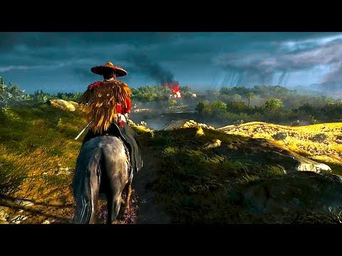 Ghost of Tsushima - E3 2018 Gameplay Demo (Playstation Conference)