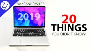 NEW MacBook Pro & MacBook Air (2019) - 20 Things You Didn't Know!
