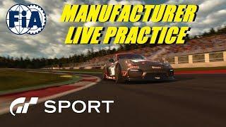 GT Sport FIA Manufacturer Live Practice