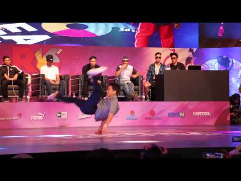 ISSEI v TATA / TOP16 / R16 2014 Final Bboy 1 on 1 / Allthatb