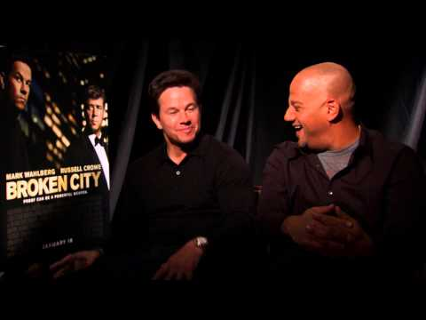 Mark Wahlberg And Allen Hughes Talk 'Broken City'