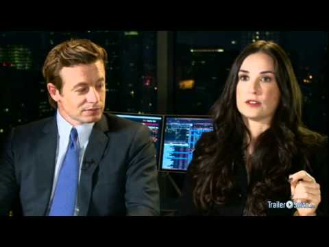 Simon Baker and Demi Moore interview about Margin Call