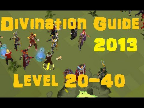 Divination Skill Guide Level 20-40 – Methods & Locations – RS3 Runescape