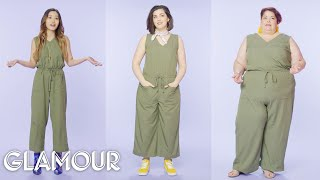 Women Sizes 0 Through 28 Try on the Same Jumpsuit | Glamour