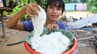 Primitive Technology: Cooking skill food recipe | Cooking skill