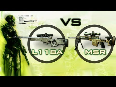Comparemos MW3 - L118A VS MSR  | byPrieto