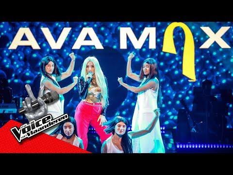 Ava Max - 'Sweet But Psycho' & 'So Am I' | Finale | The Voice Van Vlaanderen | VTM