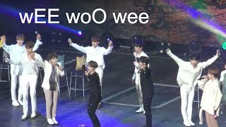 seventeen when wee woo plays on shuffle