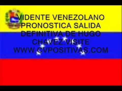 Venezuela Vidente venezolano pronostica cambios politicos...
