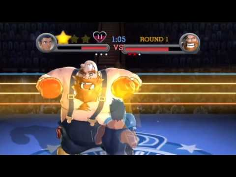 Punch Out!! Wii - Little Mac vs. Piston Hondo, Bear Hugger, and Great Tiger