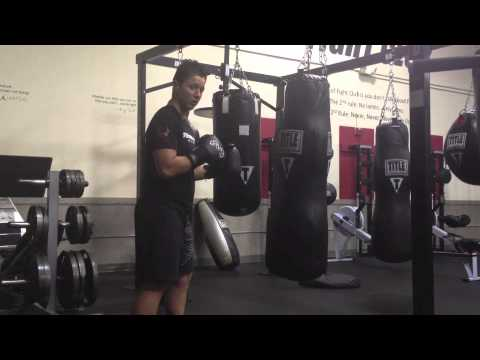 Heavy Bag Workout: Speed & Power Drill Image 1