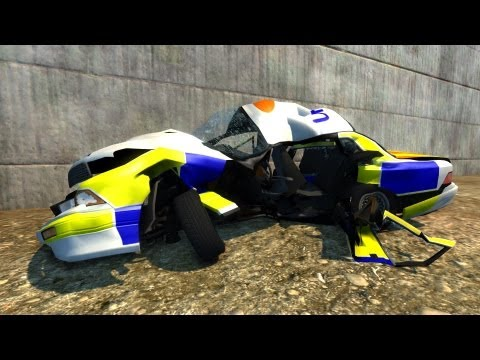BeamNG Drive Alpha Crash Testing #18 HD