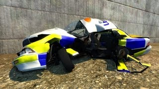 Game | BeamNG Drive Alpha Crash Testing 18 HD | BeamNG Drive Alpha Crash Testing 18 HD