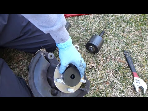 How to Change a Wheel Bearing (short and fast version)