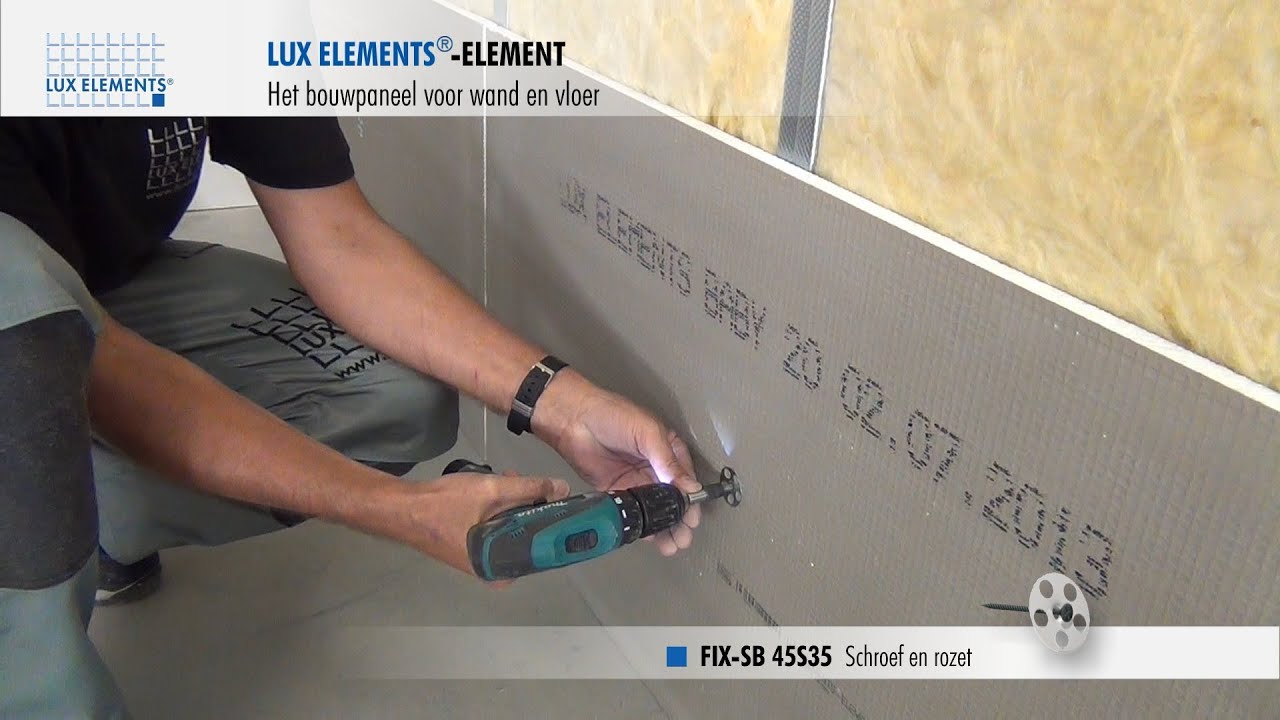 Lux Elements Montage Bouwplaat Element Op Metalen