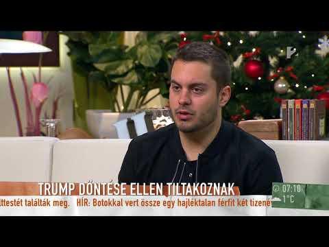 Amerika: A választók többsége örül Trump Izraellel kapcsolatos döntésének - tv2.hu/mokka