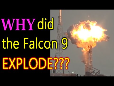 SpaceX - Falcon 9 Land, Tip Over and Explode, Slow Motion Analysis