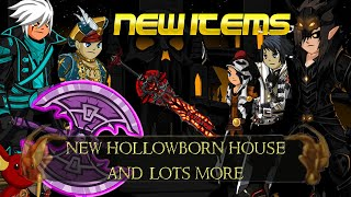 AQW New Hollowborn House + Chickencow Priest | Plus Celestial Bard and Crystallis Update + Lots More