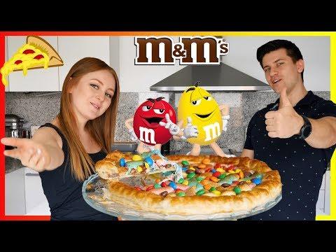 ГОТОВИМ ПИЦЦУ С МАРШМЕЛОУ И M&M's!   M&M's PIZZA   SWEET HOME