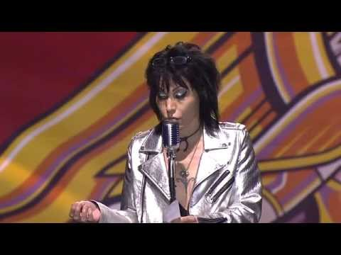 Joan Jett receives the AP Icon Award, presented by Laura Jane Grace