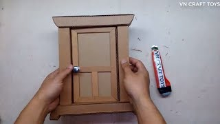 DIY- How to make a DORAEMON GATE from cardboard