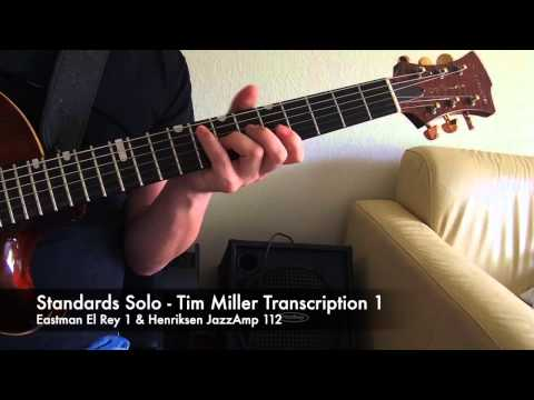Jazz Chord Study: Tim Miller Transcriptions With Eastman El Rey