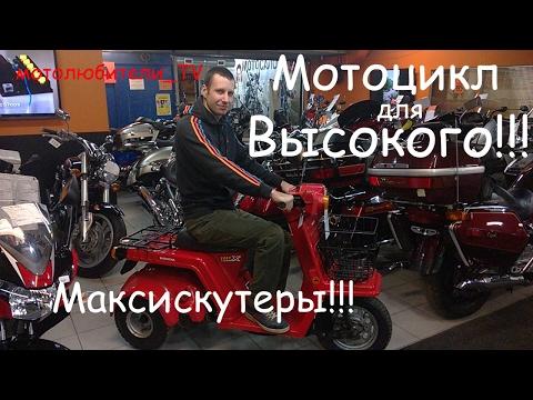 Мотоцикл для высокого,  выпуск 1: Максискутеры