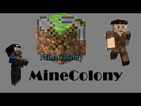 MineColony - S02E03 : The Lumberjack and the Miner!