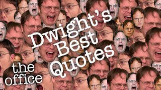 DWIGHT'S BEST QUOTES  - The Office US
