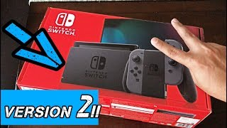 NEW Nintendo Switch V2- Unboxing/REVIEW [2019]