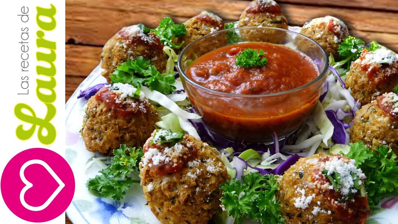 Deliciosas albondigas de soya comida vegetariana comida for Comidas faciles y saludables
