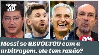 "Título foi ARMADO pro Brasil? ""Messi quis pagar de Maradona!"", disparam jornalistas"