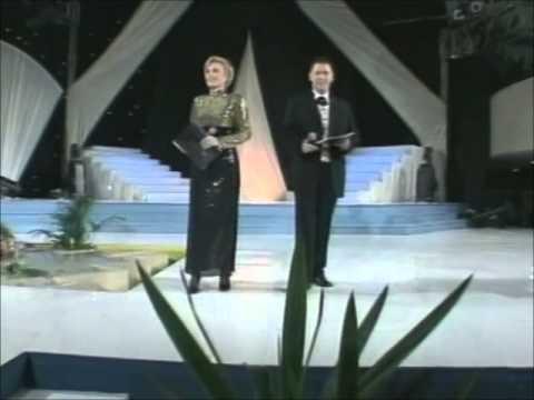 Esad i Elvira - Pozdravni uvod @ Miss BiH 1999