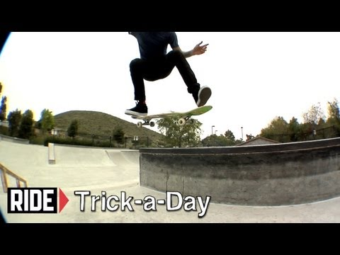 How-To Kickflip 5050 with James Brockman - Trick-a-Day