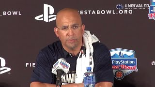 Penn State Football | Fiesta Bowl Postgame (Franklin)