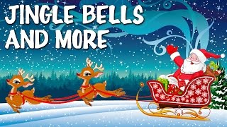 Jingle Bells Feliz Navidad & More | Christmas Carols With Lyrics For Tiny Tots