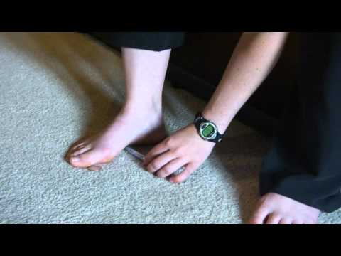 Pen Penny Foot Exercise for Flat Feet or Fallen Arches or Pronators