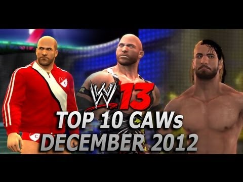 WWE '13 Top 10 CAWs: December 2012