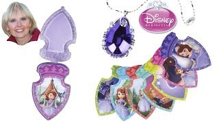 ♥♥ Unboxing Sofia the First Talking Magical Amulet