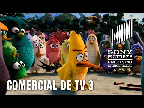 """Angry Birds O Filme   Comercial 3 """"Tentando se encaixar""""   12 de maio nos cinemas"""