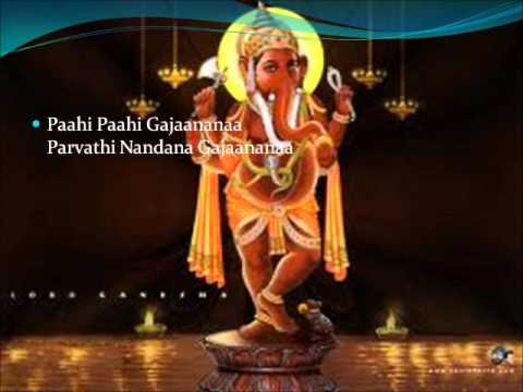 Devotional Song (bhajan) On Lord Ganesha (pahi Pahi Gajanana On Flute) video