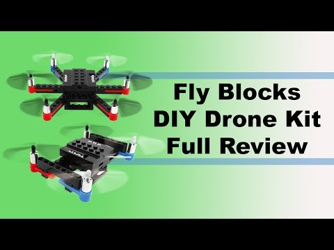 Drone Review - Fly Blocks DIY Drone Kit
