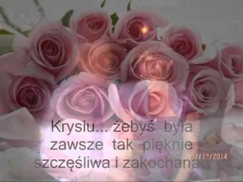 Dla  Krystyny W Dniu Imienin:)
