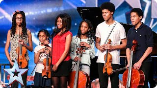Musicians The Kanneh Masons Are Keeping It In The Family Britain 39 S Got Talent 2015